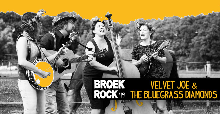 Velvet Joe and the Bluegrass Diammonds op Broekrock 2019